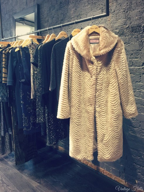 Phase Eight AW15 Press Day Fur Coat