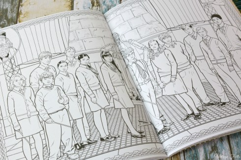 Harry Potter Colouring Book Dumbledore's Army
