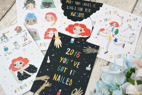 Birchbox January 2016 Postcards