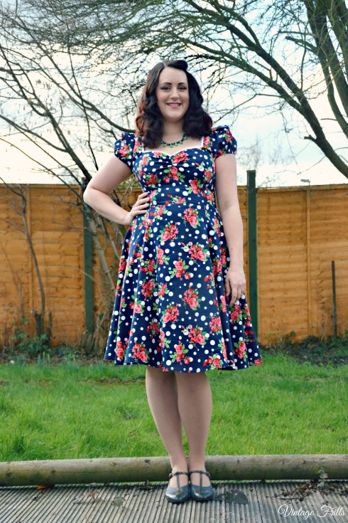 Collectif Dress OOTD