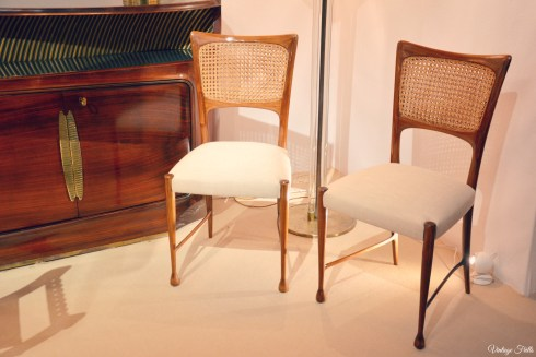 Olympia Art and Antiques Fair Art Deco Chairs and Sideboard