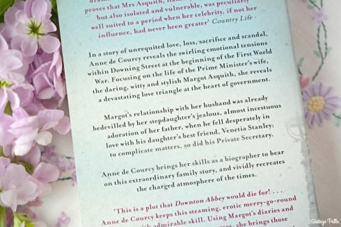 Margot at War Back of Book