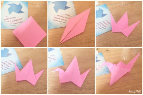 Viking Arty Party Origami Stalk