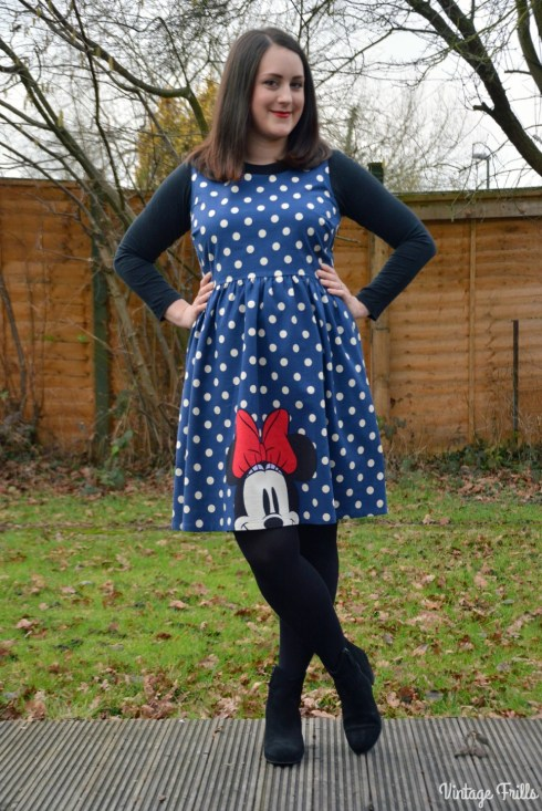 Cath Kidston Disney Minnie Mouse Dress