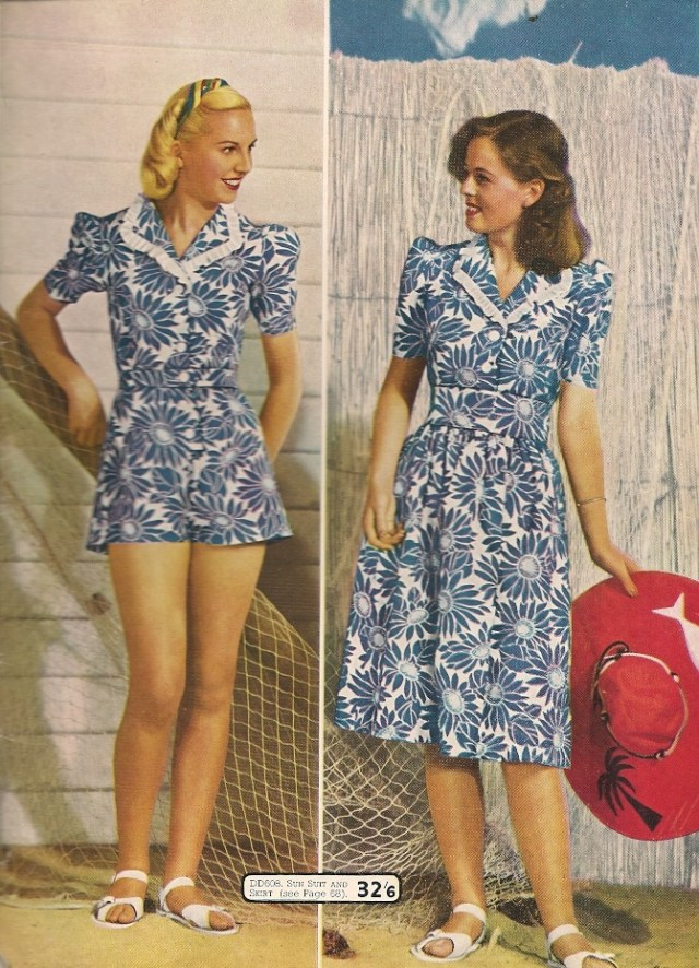 1940s womens fashion