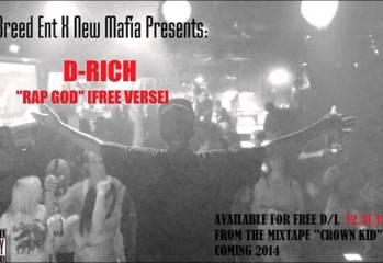 D-Rich – Rap God [Free Verse]