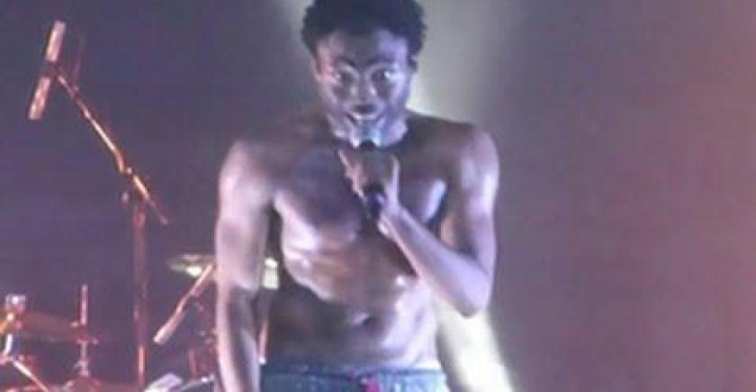 Childish Gambino Live Freestyle Calling Out Drake & Kendrick Lamar