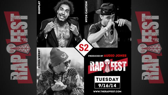 The RapFest Series 2: Gunplay x Chris Webby x Nyck Caution