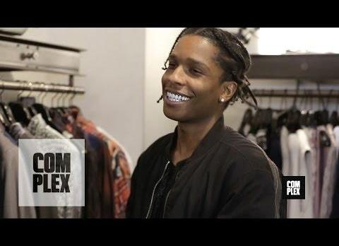 Shopping Designer With A$AP Rocky