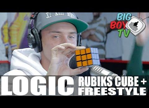 Logic Solves A Rubik's Cube While Freestyling [VMG Approved]