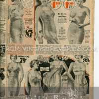 1935 Lingerie and Foundation Fashions - garters, corsets, shapewear, bras...