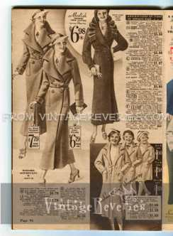1930s womens suit and coat styles