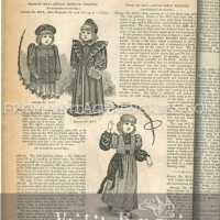 1890s Children's Fashions - styles for boys and girls