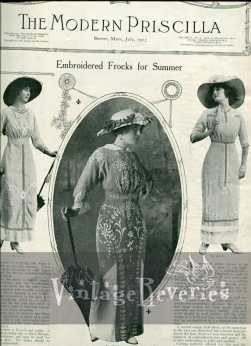 1913 Fashion Photos and an Ivory Soap Advertisement