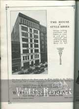 1920s Shoe Advertisements: Womens shoes, childrens shoes, and mens shoes.
