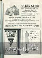 Advertisements from 1924