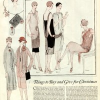 1920s Christmas gift buying tips and fashions