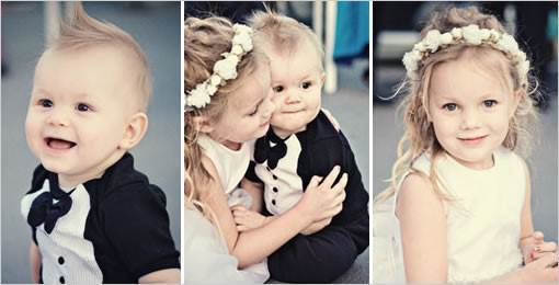 Babies & Children Weddings - wedding photography 1 via National Vintage Wedding Fair blog