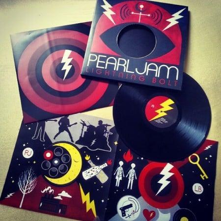 Vinyl des Monats Oktober: Pearl Jam Lightning Bolt