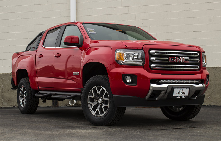 Custom Vehicles   VIP Auto Accessories On a 2016 GMC Canyon