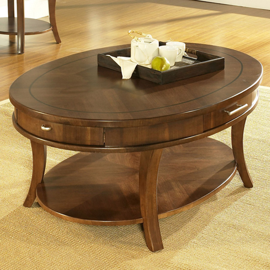 Fullsize Of Oval Coffee Table