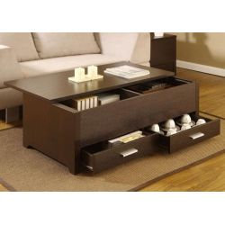 Small Crop Of Coffee Table Storage