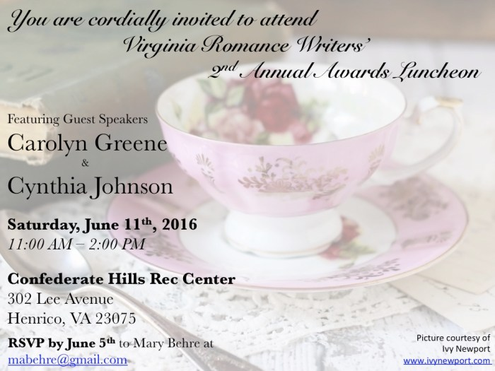 June 2016 Invitation for VRW