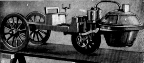 first car, first car made by Nicholas Cugnot