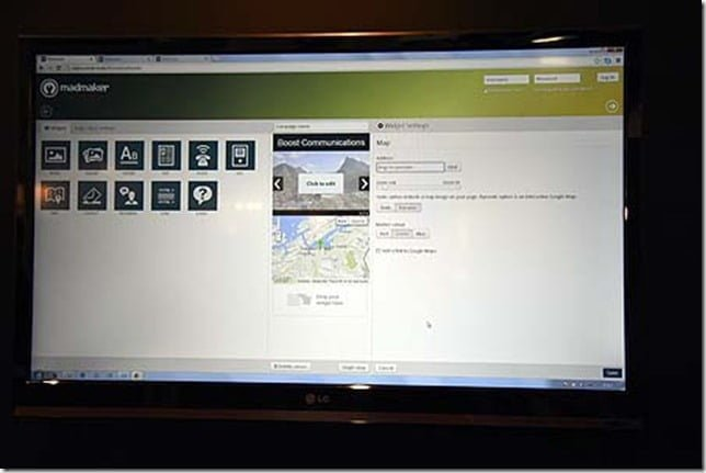 Madmaker.com (alpha V2) interface