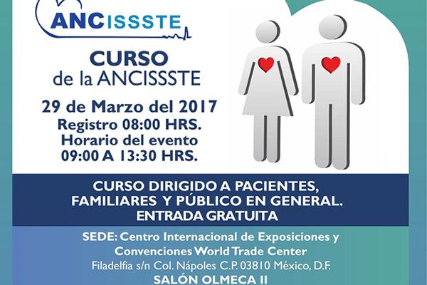 ANCISSSTE CONVOCA A CURSO GRATUITO SOBRE ENFERMEDADES CARDIOVASCULARES1