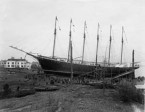 6 Masted Schooner Wyoming