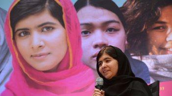 Malala Yousafzai. Pic: AFP.