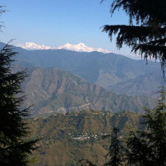 The Indian Himalaya where Cameras for Asia spent two weeks.