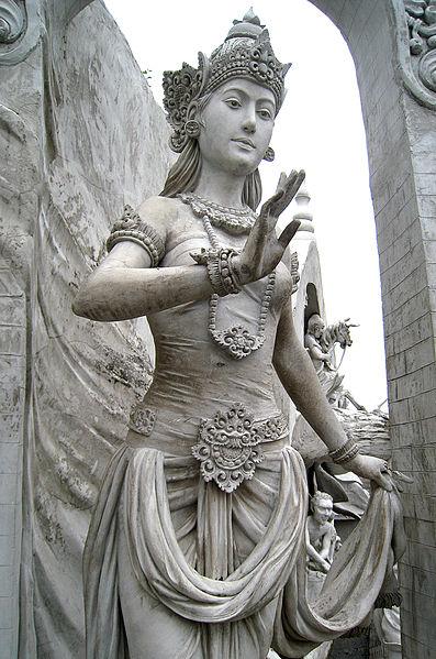 Prithvi Ibu Pertiwi statue at Monas