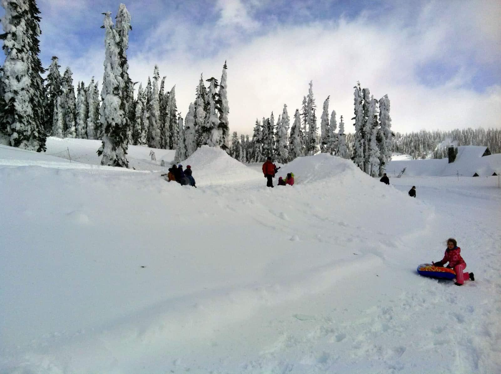 Paradise Snowplay Area Sledding Amp Inner Tubing