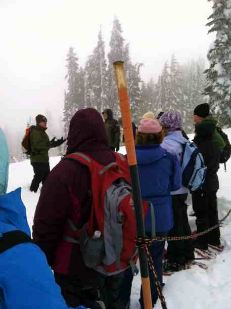 Snowshoeing with a Ranger © Carrie Uffindell