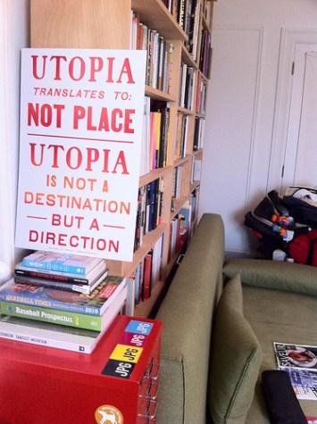 Steve Lambert Utopia Letterpress Prints photo