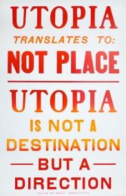 Steve Lambert Utopia Poster