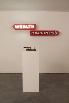 Steve Lambert Wealth or Happiness photo