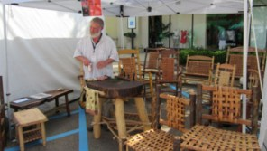 Greg Harkins' award-winning tamales and hand-made chairs.
