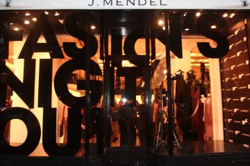 Fashion's Night Out 2011 at J. Mendel
