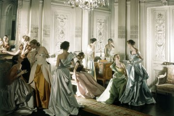 Charles James by Cecil Beaton for Vogue 1948