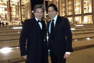 Joe Lupo and Jesse Garza at Lincoln Center