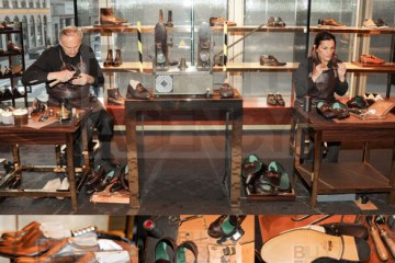 Gucci Shoemakers at the Party: True Craftsmen!