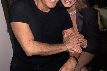 Giorgio Armani with Sophia Loren