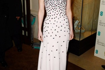 Jennifer Lawrence in Christian Dior BAFTAs 2013