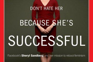 Cheryl Sandberg Time Cover Lean In