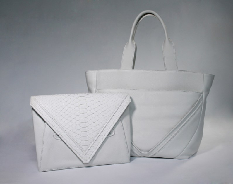 5. LRVT The 'V' Tote & Clutch Duo