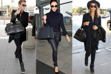 Airport Style: Charlize Theron, Victoria Beckham, Jessica Alba