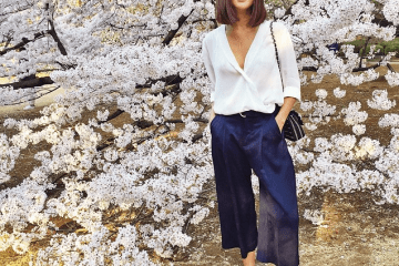 Gary Pepper Girl - Nicole Warne in culottes   Visual Therapy